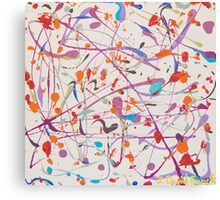 Chaos in Motion Canvas Print