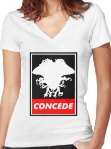 Emrakul Order Women's Fitted V-Neck T-Shirt