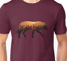 Sunset Wolf Unisex T-Shirt
