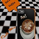 Let's Do Coffee iphone Invitation Card by judygal