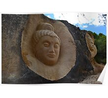 Stone sculptures Poster