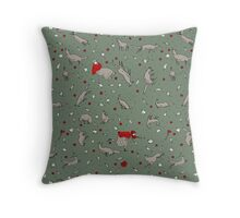All the wild wolves... Throw Pillow