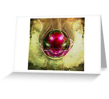 In the sphere - The face Greeting Card