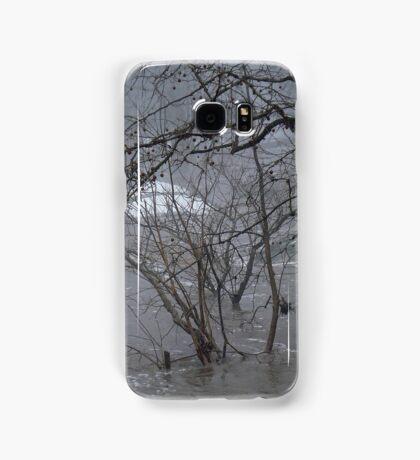 Gumballs Above the Winter Flood Samsung Galaxy Case/Skin