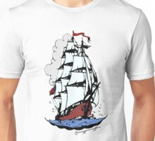 Sailing ship Unisex T-Shirt