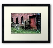 Abandoned Mill Framed Print