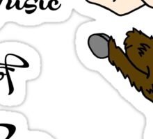 May the Music of Pan Guide You Sticker