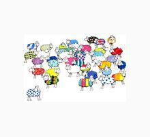 Baaah multicoloured sheep Unisex T-Shirt