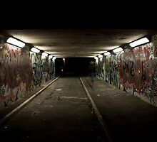 Light at the end of the tunnel by Byron Kirk