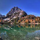 Mountainous Reflection by Stefan Trenker