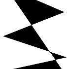 b&w triangles by Kafas Kackas