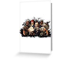 Borderlands Characters Greeting Card