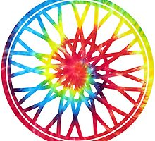 tie dye soul wheel by Sara Jaye