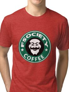 f society coffee Tri-blend T-Shirt