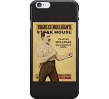 Charles Mulligan's Steak House iPhone Case/Skin