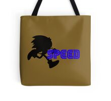 Speed Type: Sonic Tote Bag
