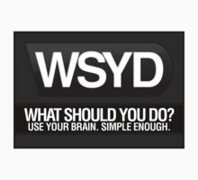 WSYD: What Should You Do by wellastebu