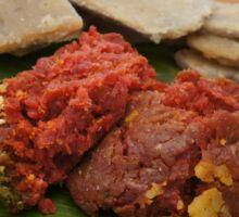 Ethiopian Food - Kitfo Sticker