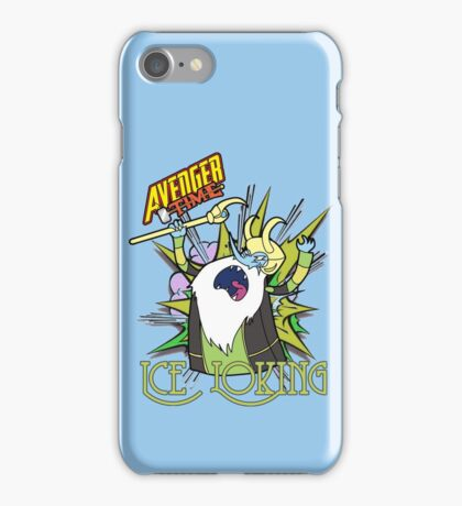 Ice Loking - Avenger Time iPhone Case/Skin