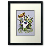 Ice Loking - Avenger Time Framed Print