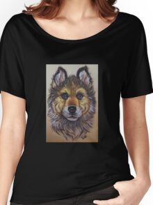 the wolf baby Women's Relaxed Fit T-Shirt