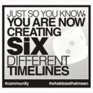 Six Different Timelines by wellastebu