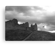 Ruthven Barracks and Hercules Canvas Print