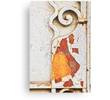 Gate detail Canvas Print
