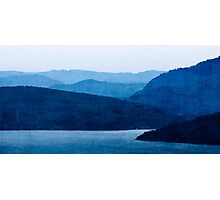 Vancouver Island at Dusk Photographic Print