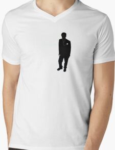 iHouse Mens V-Neck T-Shirt