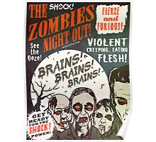 The Zombies Night Out! Poster