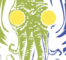 Cthulhu in the Depths Sticker
