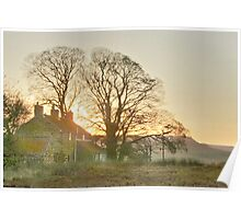 Moorland Twilight Poster