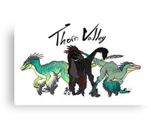 Thorn Valley Mascots Canvas Print