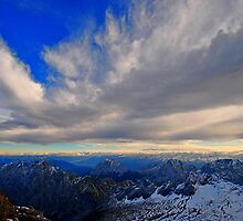Sky and Mountain by Daidalos