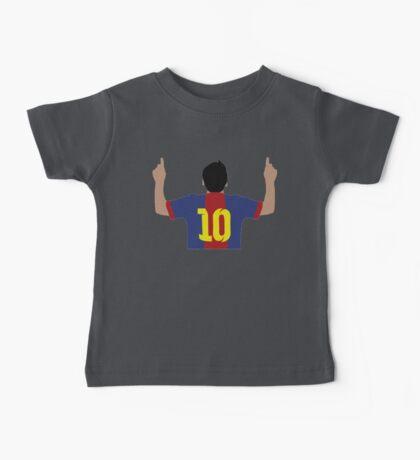 Messi Vector Artwork Baby Tee