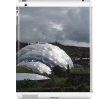 Grey Skies Over The Eden Project iPad Case/Skin