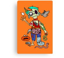 Zombie is back! Canvas Print