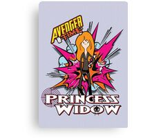 Princess widow - Avenger Time Canvas Print