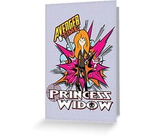 Princess widow - Avenger Time Greeting Card