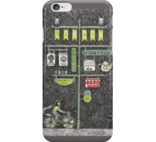 Riding home for Christmas iPhone Case/Skin