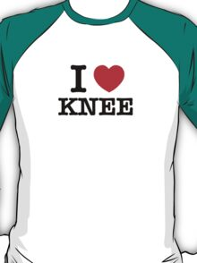 I Love KNEE T-Shirt