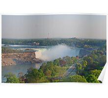 Niagara Falls, Canada : Lake Erie flowing to Lake Ontario Poster