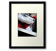 Kill fish! Framed Print