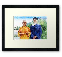 ~ Zen & Tao ~ Framed Print