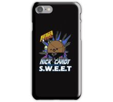 Nick Candy Agent of S.W.E.E.T - Avenger Time iPhone Case/Skin