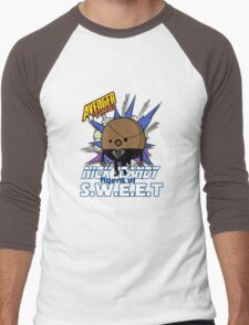 Nick Candy Agent of S.W.E.E.T - Avenger Time Men's Baseball ¾ T-Shirt
