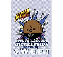 Nick Candy Agent of S.W.E.E.T - Avenger Time Photographic Print