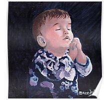 Pray Baby Poster