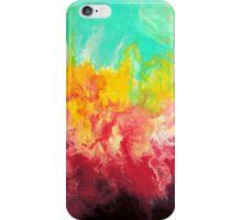 Rainbow - Fluid Abstract Art iPhone Case/Skin